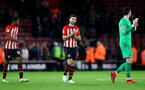 SOUTHAMPTON, ENGLAND - DECEMBER 30: Shane Long of Southampton during the Premier League match between Southampton FC and Manchester City at St Mary's Stadium on December 30, 2018 in Southampton, United Kingdom. (Photo by Matt Watson/Southampton FC via Getty Images)