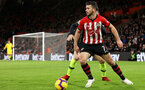SOUTHAMPTON, ENGLAND - DECEMBER 30: Shane Long during the Premier League match between Southampton FC and Manchester City at St Mary's Stadium on December 29, 2018 in Southampton, United Kingdom. (Photo by Chris Moorhouse/Southampton FC via Getty Images)