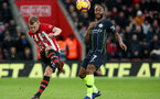 SOUTHAMPTON, ENGLAND - DECEMBER 30: James Ward-Prowse during the Premier League match between Southampton FC and Manchester City at St Mary's Stadium on December 29, 2018 in Southampton, United Kingdom. (Photo by Chris Moorhouse/Southampton FC via Getty Images)