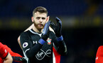 LONDON, ENGLAND - JANUARY 02: Angus Gunn of Southampton during the Premier League match between Chelsea FC and Southampton FC at Stamford Bridge on January 02, 2019 in London, United Kingdom. (Photo by Matt Watson/Southampton FC via Getty Images)