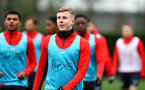 SOUTHAMPTON, ENGLAND - JANUARY 03: Matt Targett during a Southampton FC training session at the Staplewood Campus on January 03, 2019 in Southampton, England. (Photo by Matt Watson/Southampton FC via Getty Images)