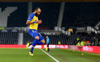 DERBY, ENGLAND - JANUARY 05: Nathan Redmond of Southampton celebrates after scoring his second during the FA Cup Third Round match between Derby County and Southampton FC at Pride Park on January 05, 2019 in Derby, United Kingdom. (Photo by Matt Watson/Southampton FC via Getty Images)
