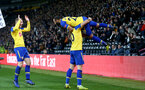DERBY, ENGLAND - JANUARY 05: Matt Targett(L), Charlie Austin and Nathan Redmond(R) of Southampton celebrate during the FA Cup Third Round match between Derby County and Southampton FC at Pride Park on January 05, 2019 in Derby, United Kingdom. (Photo by Matt Watson/Southampton FC via Getty Images)