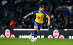 DERBY, ENGLAND - JANUARY 05: Shane Long of Southampton during the FA Cup Third Round match between Derby County and Southampton FC at Pride Park on January 05, 2019 in Derby, United Kingdom. (Photo by Matt Watson/Southampton FC via Getty Images)
