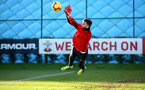 SOUTHAMPTON, ENGLAND - JANUARY 08: Angus Gunn during a Southampton FC training session at the Staplewood Campus on January 08, 2019 in Southampton, England. (Photo by Matt Watson/Southampton FC via Getty Images)