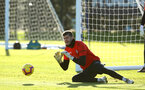 SOUTHAMPTON, ENGLAND - JANUARY 09:  Fraser Forster during a Southampton FC training session at Staplewood Training Ground on January 09, 2019 in Southampton, United Kingdom. (Photo by James Bridle - Southampton FC/Southampton FC via Getty Images)