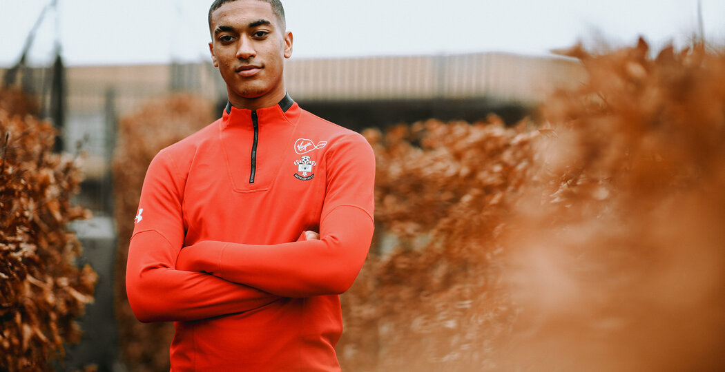SOUTHAMPTON, ENGLAND - JANUARY 10: Yan Valery feature photoshoot pictured at Staplewood Training Ground on January 10, 2019 in Southampton, England. (Photo by James Bridle - Southampton FC/Southampton FC via Getty Images)