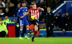 LEICESTER, ENGLAND - JANUARY 12: James Ward-Prowse of Southampton during the Premier League match between Leicester City and Southampton FC at The King Power Stadium on January 12, 2019 in Leicester, United Kingdom. (Photo by Matt Watson/Southampton FC via Getty Images)