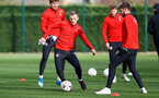 SOUTHAMPTON, ENGLAND - JANUARY 14: James Ward-Prowse during a Southampton FC training session at the Staplewood Campus on January 14, 2019 in Southampton, England. (Photo by Matt Watson/Southampton FC via Getty Images)