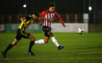 LONDON, ENGLAND - JANUARY 17:  Christian Norton during a  FA Youth Cup match between Watford FC and Southampton FC on January 17, 2019 in Watford, United Kingdom. (Photo by James Bridle - Southampton FC/Southampton FC via Getty Images)