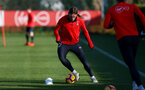 SOUTHAMPTON, ENGLAND - JANUARY 23: Jannik Vestergaard during a Southampton FC training session at the Staplewood Campus on January 23, 2019 in Southampton, England. (Photo by Matt Watson/Southampton FC via Getty Images)
