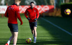 SOUTHAMPTON, ENGLAND - JANUARY 23: Danny Ings during a Southampton FC training session at the Staplewood Campus on January 23, 2019 in Southampton, England. (Photo by Matt Watson/Southampton FC via Getty Images)