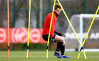 SOUTHAMPTON, ENGLAND - JANUARY 26: Stuart Armstrong during a Southampton FC training session at the Staplewood Campus on January 26, 2019 in Southampton, England. (Photo by Matt Watson/Southampton FC via Getty Images)