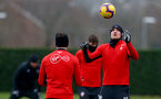 SOUTHAMPTON, ENGLAND - FEBRUARY 01: Sam Gallagher during a Southampton FC training session at the Staplewood Campus on February 01, 2019 in Southampton, England. (Photo by Matt Watson/Southampton FC via Getty Images)