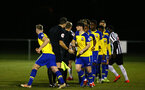 NEWCASTLE, ENGLAND - FEBRUARY 08: Will Ferry (middle) ahead of kick off the PLCUP match between Southampton FC and Newcastle United pictured at Northumberland County FA on February 08, 2019 in Newcastle, England. (Photo by James Bridle - Southampton FC/Southampton FC via Getty Images)