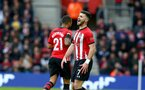 SOUTHAMPTON, ENGLAND - FEBRUARY 09: Shane Long of Southampton during the Premier League match between Southampton FC and Cardiff City at St Mary's Stadium on February 09, 2019 in Southampton, United Kingdom. (Photo by Matt Watson/Southampton FC via Getty Images)