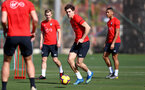 TENERIFE, SPAIN - FEBRUARY 12: Sam Gallagher on day 2 of Southampton FC's winter training Camp, on February 12, 2019 in Tenerife, Spain. (Photo by Matt Watson/Southampton FC via Getty Images)