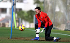 TENERIFE, SPAIN - FEBRUARY 12: Alex McCarthy on day 2 of Southampton FC's winter training Camp, on February 12, 2019 in Tenerife, Spain. (Photo by Matt Watson/Southampton FC via Getty Images)