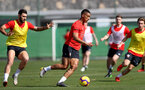 TENERIFE, SPAIN - FEBRUARY 12: Yan Valery on day 2 of Southampton FC's winter training Camp, on February 12, 2019 in Tenerife, Spain. (Photo by Matt Watson/Southampton FC via Getty Images)