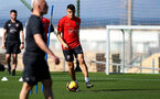 TENERIFE, SPAIN - FEBRUARY 13: Mohamed Elyounoussi on day 3 of Southampton FC's winter training camp on February 13, 2019 in Tenerife, Spain. (Photo by Matt Watson/Southampton FC via Getty Images)