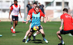 TENERIFE, SPAIN - FEBRUARY 13: Josh Sims on day 3 of Southampton FC's winter training camp on February 13, 2019 in Tenerife, Spain. (Photo by Matt Watson/Southampton FC via Getty Images)