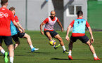 TENERIFE, SPAIN - FEBRUARY 13: Nathan Redmond on day 3 of Southampton FC's winter training camp on February 13, 2019 in Tenerife, Spain. (Photo by Matt Watson/Southampton FC via Getty Images)