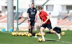 TENERIFE, SPAIN - FEBRUARY 13: Stuart Armstrong on day 3 of Southampton FC's winter training camp on February 13, 2019 in Tenerife, Spain. (Photo by Matt Watson/Southampton FC via Getty Images)