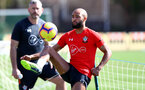 TENERIFE, SPAIN - FEBRUARY 14: Nathan Redmond on day 4 of Southampton FC's winter training camp on February 14, 2019 in Tenerife, Spain. (Photo by Matt Watson/Southampton FC via Getty Images)
