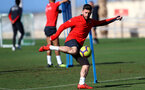 TENERIFE, SPAIN - FEBRUARY 15: Shane Long on day 5 of Southampton FC's winter training camp on February 15, 2019 in Tenerife, Spain. (Photo by Matt Watson/Southampton FC via Getty Images)