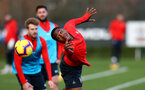 Kayne Ramsay during a Southampton FC training session at the Staplewood Campus, Southampton, 19th February 2019