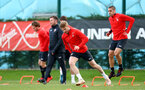 Stuart Armstrong during a Southampton FC training session at the Staplewood Campus, Southampton, 19th February 2019