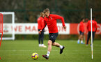 SOUTHAMPTON, ENGLAND - FEBRUARY 20: James Ward-Prowse during a Southampton FC training session pictured at Staplewood Complex on February 20, 2019 in Southampton, England. (Photo by James Bridle - Southampton FC/Southampton FC via Getty Images)