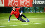 SOUTHAMPTON, ENGLAND - FEBRUARY 20: Alex McCarthy during a Southampton FC training session pictured at Staplewood Complex on February 20, 2019 in Southampton, England. (Photo by James Bridle - Southampton FC/Southampton FC via Getty Images)