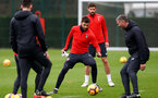 SOUTHAMPTON, ENGLAND - FEBRUARY 22: Charlie Austin during a Southampton FC training session at the Staplewood Campus on February 22, 2019 in Southampton, England. (Photo by Matt Watson/Southampton FC via Getty Images)