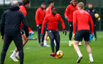SOUTHAMPTON, ENGLAND - FEBRUARY 22: Michael Obafemi during a Southampton FC training session at the Staplewood Campus on February 22, 2019 in Southampton, England. (Photo by Matt Watson/Southampton FC via Getty Images)