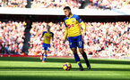 LONDON, ENGLAND - FEBRUARY 24: Mohamed Elyounoussi of Southampton during the Premier League match between Arsenal FC and Southampton FC at Emirates Stadium on February 24, 2019 in London, United Kingdom. (Photo by Matt Watson/Southampton FC via Getty Images)