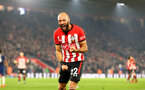 SOUTHAMPTON, ENGLAND - FEBRUARY 27: Nathan Redmond of Southampton during the Premier League match between Southampton FC and Fulham FC at St Mary's Stadium on February 27, 2019 in Southampton, United Kingdom. (Photo by Matt Watson/Southampton FC via Getty Images)
