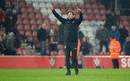 SOUTHAMPTON, ENGLAND - FEBRUARY 27: Ralph Hasenhuttl of Southampton during the Premier League match between Southampton FC and Fulham FC at St Mary's Stadium on February 27, 2019 in Southampton, United Kingdom. (Photo by Matt Watson/Southampton FC via Getty Images)