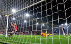 SOUTHAMPTON, ENGLAND - FEBRUARY 27: James Ward-Prowse of Southampton scores during the Premier League match between Southampton FC and Fulham FC at St Mary's Stadium on February 27, 2019 in Southampton, United Kingdom. (Photo by Matt Watson/Southampton FC via Getty Images)