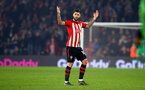 SOUTHAMPTON, ENGLAND - FEBRUARY 27:  Charlie Austin of Southampton FC during the Premier League match between Southampton FC and Fulham FC at St Mary's Stadium on February 27, 2019 in Southampton, United Kingdom. (Photo by James Bridle - Southampton FC/Southampton FC via Getty Images)