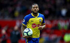 MANCHESTER, ENGLAND - MARCH 02: Ryan Bertrand of during the Premier League match between Manchester United and Southampton FC at Old Trafford on March 02, 2019 in Manchester, United Kingdom. (Photo by Matt Watson/Southampton FC via Getty Images)