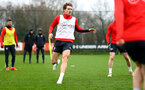 SOUTHAMPTON, ENGLAND - MARCH 03: Sam Gallagher during a Southampton FC training session at the Staplewood Campus on March 03, 2019 in Southampton, England. (Photo by Matt Watson/Southampton FC via Getty Images)