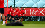SOUTHAMPTON, ENGLAND - MARCH 05: Players run during a Southampton FC training session at the Staplewood Campus on March 05, 2019 in Southampton, England. (Photo by Matt Watson/Southampton FC via Getty Images)