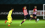 SOUTHAMPTON, ENGLAND - MARCH 06: Will Smallbone (right) during the U23's International Cup match between Southampton FC vs Villarreal pictured at Staplewood Complex on March 06, 2019 in Southampton, England. (Photo by James Bridle - Southampton FC/Southampton FC via Getty Images)