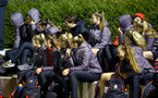 SOUTHAMPTON, ENGLAND - MARCH 06: Southampton FC's women's team watch the U23's International Cup match between Southampton FC vs Villarreal pictured at Staplewood Complex on March 06, 2019 in Southampton, England. (Photo by James Bridle - Southampton FC/Southampton FC via Getty Images)