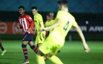 SOUTHAMPTON, ENGLAND - MARCH 06: Nathan Tella (left) during the U23's International Cup match between Southampton FC vs Villarreal pictured at Staplewood Complex on March 06, 2019 in Southampton, England. (Photo by James Bridle - Southampton FC/Southampton FC via Getty Images)