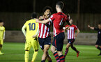 SOUTHAMPTON, ENGLAND - MARCH 06: during the U23's International Cup match between Southampton FC vs Villarreal pictured at Staplewood Complex on March 06, 2019 in Southampton, England. (Photo by James Bridle - Southampton FC/Southampton FC via Getty Images)