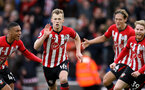 SOUTHAMPTON, ENGLAND - MARCH 09: James Ward-Prowse celebrates his goal during the Premier League match between Southampton FC and Tottenham Hotspur at St Mary's Stadium on March 9, 2019 in Southampton, United Kingdom. (Photo by Chris Moorhouse/Southampton FC via Getty Images)