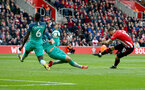 SOUTHAMPTON, ENGLAND - MARCH 09: Charlie Austin of Southampton shoots at goal during the Premier League match between Southampton FC and Tottenham Hotspur at St Mary's Stadium on March 09, 2019 in Southampton, United Kingdom. (Photo by Matt Watson/Southampton FC via Getty Images)
