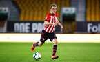 WOLVERHAMPTON, ENGLAND - MARCH 05:  Jake Vokins  during the PL2 U23's match between Wolverhampton Wanders and Southampton FC at Molineux Stadium in Wolverhampton, England, on March 05, 2019 (Photo by James Bridle - Southampton FC/Southampton FC via Getty Images)